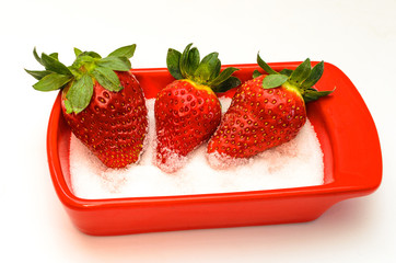 Fresas con azucar 5