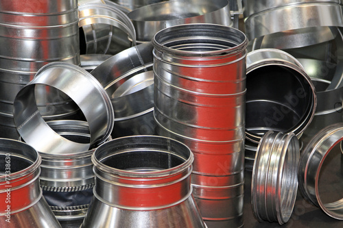 Air duct pipes