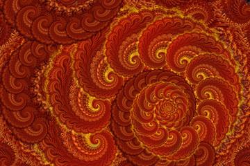 Rich oriental pattern