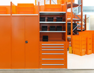 Orange warehouse