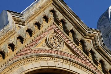 Synagogue facade