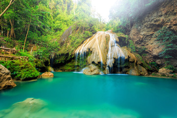 wonderful waterfall in thailand