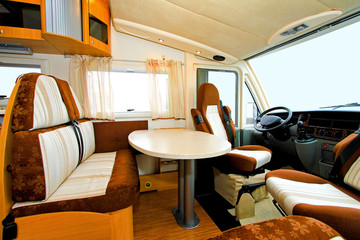 Camper dining room