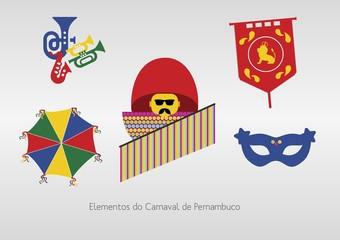 Elementos do Carnaval de Pernambuco