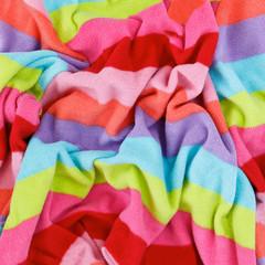 colorful fleece cotton texture fabric