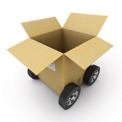Carton vehicule