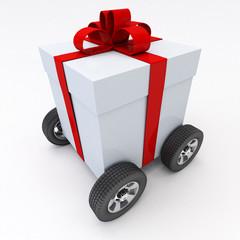 Cadeau transport