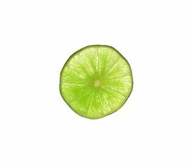 Lemons with white background