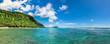 Leinwanddruck Bild - Tropical beach in Samoa