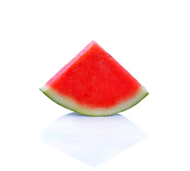 Watermelon  with white background