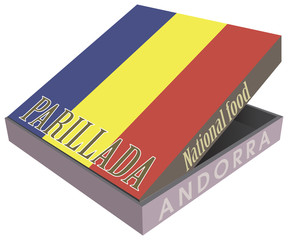Parillada - National food from Andorra