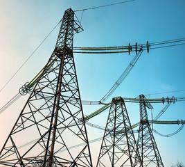 Электрические линии высокого напряжения