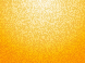 Colorful yellow checkered background