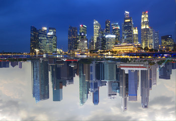 Сингапур. День - Ночь.