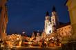 Leinwandbild Motiv Mercatino di Natale, Bressanone, Trentino Alto Adige, Italia