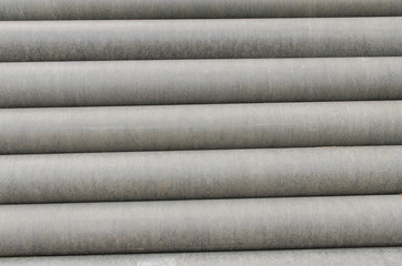 Cement pipes background