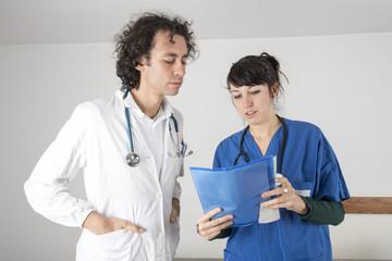 colleghi in ospedale