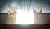 Fototapety Heavens Gates Opening