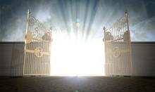 "Постер, картина, фотообои ""Heavens Gates Opening"""