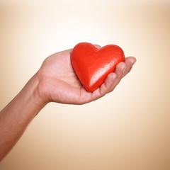 Liebe rotes Herz