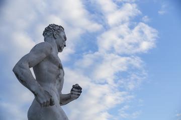 Statue of a runner