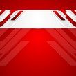 Red vector corporate abstract background