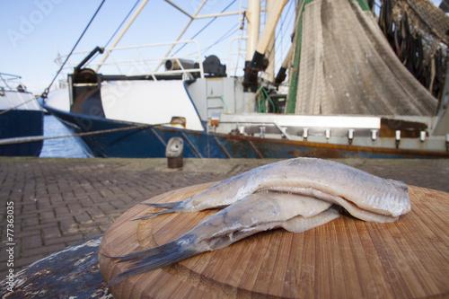 Fresh dutch haring - 77363035