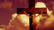Clip of Jesus Christ on the cross