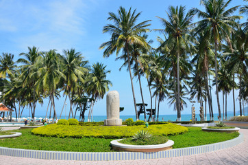 Вьетнам, центральный парк города Нячанг