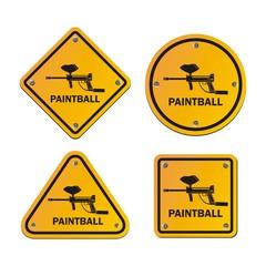 painball signs