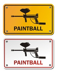 painball - rectangle signs