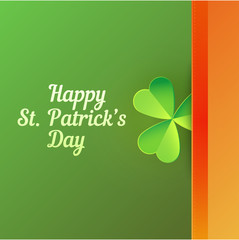 Card to Saint Patrick's Day