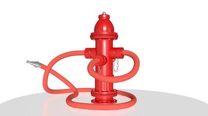 hhydrant with tube