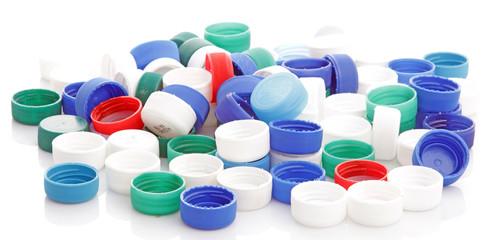 Bouchons plastiques à recycler