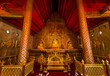interior of the temple Wat Phra Singh in Chiang Mai, Thailand