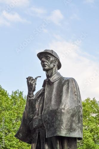 Poster Statua di Sherlock Holmes
