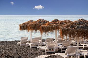 Kamari beach,Santorini