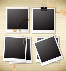 A group of frames