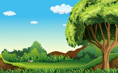 A green environment