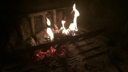 Fuoco che arde - slowmotion 240 fps