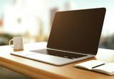 modern laptop - 77372824