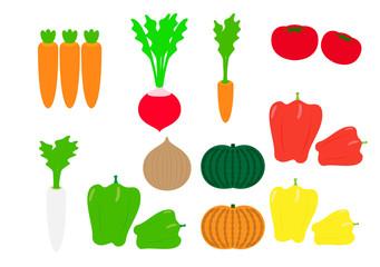 野菜のイラスト素材