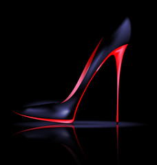 dark shoe