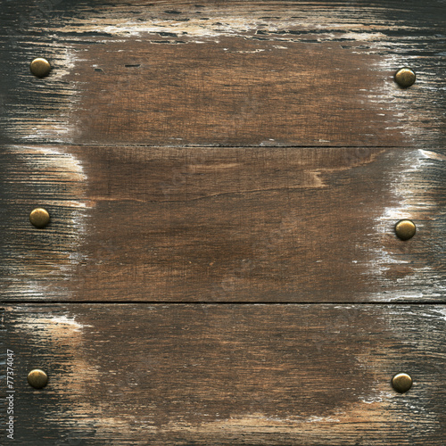 Spoed canvasdoek 2cm dik Hout Wooden background