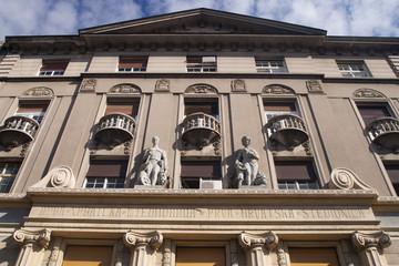 Belgrde street facade