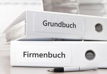Grundbuch / Firmenbuch Ordner