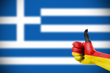 German support for Greece