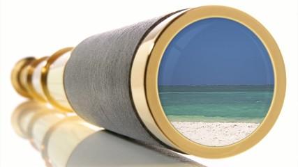 Fernglas - Strand