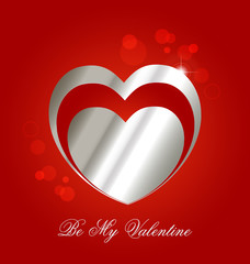 Creative design of a Valentine´s day celebration background