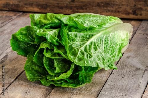 ripe organic green salad Romano - 77382058